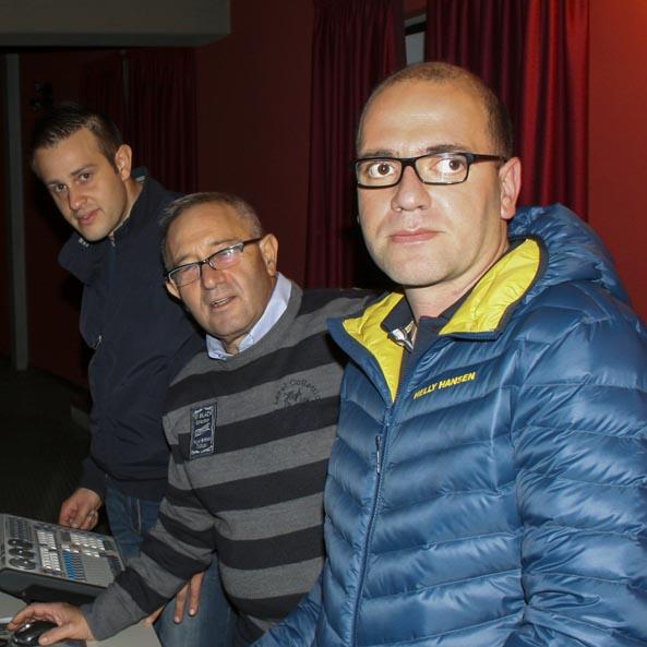 Orazio Caruso, Daniele Caruso, Giuseppe Caponnetto